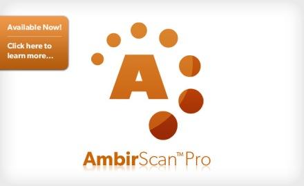 AmbirScan Pro Software